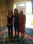 Sarah Stevenson & Mary Maguire with Lisa Spencer-Arnell