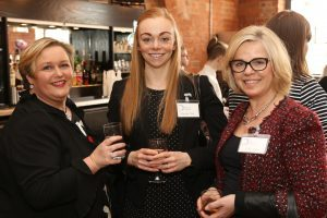 Maggie Lucas, Samantha Cotter and Debbie Leafe