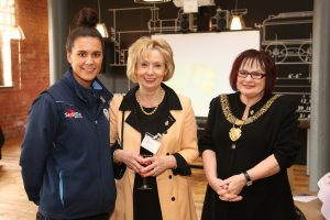 Rachel-Hopkins-Liz-Fothergill-and-Mayor-of-Derby-Councillor-Linda-Winter