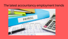 The latest employment trends for accountants