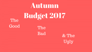 Autumn Budget 2017: The Good, The Bad And The Ugly Astute Recruitment's MD Mary Maguire Airs her thoughts for SME Businesses on the Chancellor's Autumn Statement