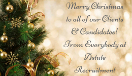 Christmas Greetings from Astute