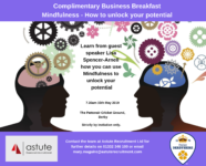 Mindfulness - Unlock Your Potential with our next powerful business breakfast
