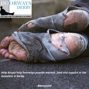 Help Astute Recruitment Ltd Help Doorways make everybody feel like a somebody