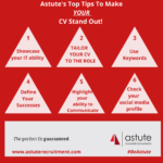 Astute Recruitment's Top CV Tips To Make YOUR CV Stand Out