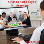 Top 5 Skype Interview Tips for candidates from Astute Recruitment Ltd