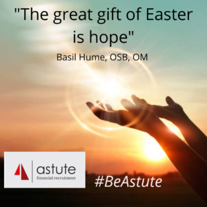 The great gift of Easter is hope