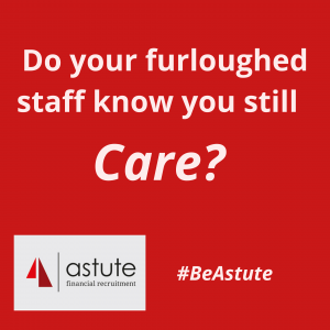 Do your furloughed staff know you CARE