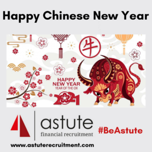Happy Chinese New Year! 2021 is the Year of the Ox, but what does this Chinese sign mean? Here's our fun guide about the Chinese New Year.Fun Facts from Astute Recruitment Ltd