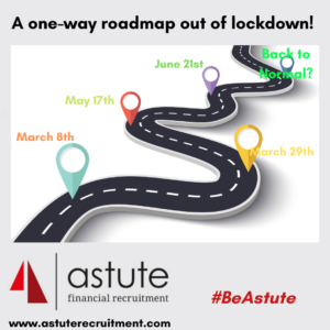 One-way roadmap out of lockdown announced today