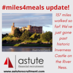#miles4meals update 137 miles in one week by our team at Astute Recruitment Ltd and our friends!