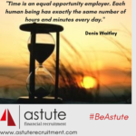 Time is an equal opportunities employer