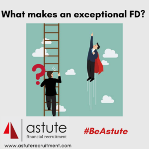 What makes an exceptional finance director?