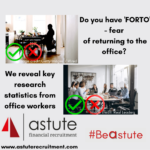 Do you have FORTO fear of returning to the office
