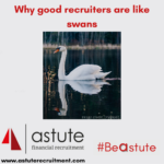 Why good recruiters are like swans